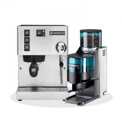 Rancilio Silvia V6 E 2020 Latest Edition + Rancilio Rocky D